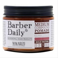 MAKARIZO Professional Barber Daily Medium Compound Pomade 120 gr