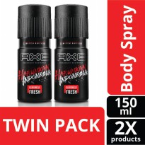 AXE Deodorant Bodyspray Harumkan Indonesia 150 ml Twin Pack