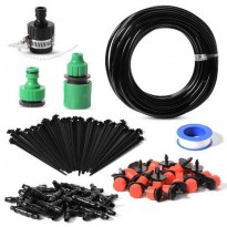 20m Garden Water Automatic System 25pcs Dripper Micro Irrigation HS410