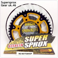 Supersprox - Gear Belakang Ninja 250R / Fi / Z250