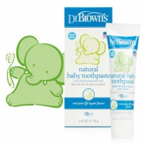 Dr BrownS Natural Baby Toothpaste Dr Brown Dr Browns Termurah01