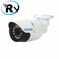 (Termurah) ESCAM Warrior QD330 Waterproof Bullet IP Camera CCTV 1/4 Inch 1MP CMOS