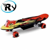 (Termurah) Electric Skateboards 150 Watt with Remote - FD24V-150D -Red black