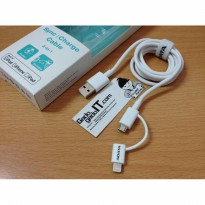 ADATA Cable/Kabel DUAL 2 in 1 Lightning & Micro USB Trasmitting CHARGE