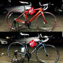 Sepeda Balap Road Bike Carbon BH PRISMA shimano 105 2x10speed Total