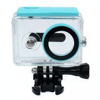 Xiaomi Yi Waterproof Underwater Case for Xiaomi Yi Action Camera IPX68 40m - Biru