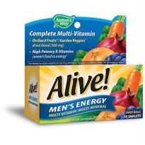 [poledit] Nature`s Way Alive Mens Energy Natures Way 50 Tabs (T1)/14708040
