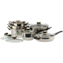 Vicenza Stainless Cookware - Panci Set V612