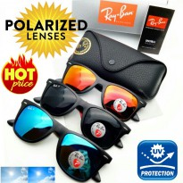 PREMIUM SUNGLASSES KACAMATA IMPORT DGN LENSA HD POLARIZED DAN UV protection