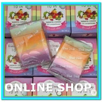 (Perlengkapan Mandi) Wink White Fruitamin Soap 10 In 1 Original