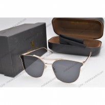Kacamata Sunglass Gentle Monster GM freesia hitam gold