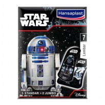 Hansaplast Plester Star Wars R2-D2 7 Strip