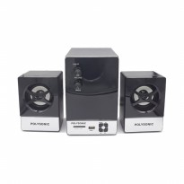 Polysonic S-103 Speaker Multimedia 2.1 Channel Hi-Fi