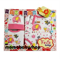 Feliz Baby Gift Set - Jumper slaber and topi New Born Baby