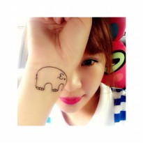 HO3277 - Tattoo Gajah HC61