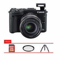 Canon EOS M3 Kit 18-55mm IS STM Paket Komplit
