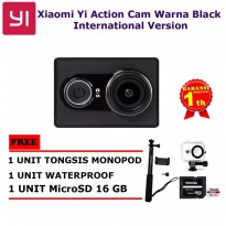 Xiaomi Yi Action Cam International Version Paket lengkap