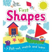 [Hellopandabooks] First Shapes Pull-out, match and learn board book