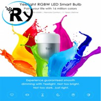 (Termurah) Xiaomi Yeelight 2 Colorful LED Smart Bulb RGB 9W 600 Lumens E27