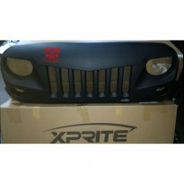 Xprite Eagle Eye Grille with Wire Mesh Jeep JK Wrangler