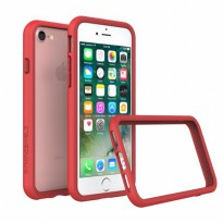 Rhino Shield Crash Guard Bumper Only for iPhone 7 - Red