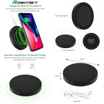 Robotsky Round Wireless Charging Pad