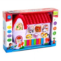 MOMO Farm Animal World CY-5092B - Mainan Piano BO