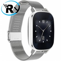 (Termurah) Asus ZenWatch 2 Silver Metal Strap 45mm - WI502Q - Silver