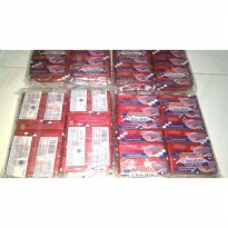 Apollo chocolate coated wafer berkrim coklat isi 48pc