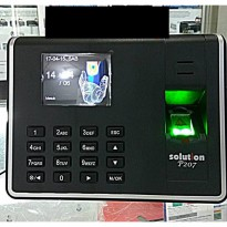 Mesin absensi sidik jari fingerprint SOLUTION P 207