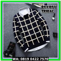 (Sweater) BOX BOY TRIBAL