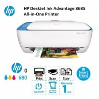 (Termurah) Printer HP DeskJet Ink Advantage 3635 All-in-One Wireless/Wifi direct