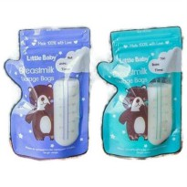 LITTLE BABY THUMB STYLE BREASTMILK STORAGE BAGS KANTONG ASI 200ML 30PCS
