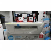 (Termurah) HP DeskJet Ink Advantage 2135 All-in-One Printer Free Tinta