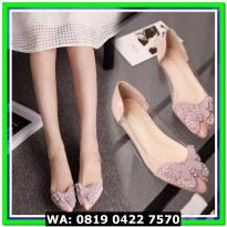 (Flat Shoes) FLATSHOES KUPU KUPU SALEM