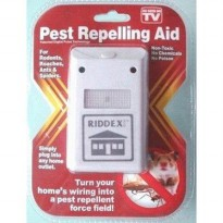 Riddex PLUS Pengusir Nyamuk Kecoak Tikus Ultrasonic Repellent AS SEEN ON TV