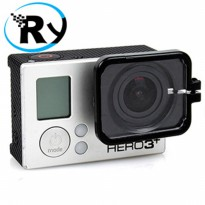 (Termurah) TMC Lens Protection with Hood for GoPro - HR235 - Black