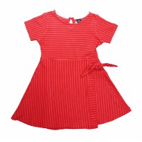 Dress Anak Perempuan DYL Stripe with Cut and Sew and Ribbon detail - DG5K0200180