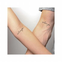 HO3028 - Tattoo Letter ALWAYS HC118
