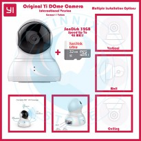 [Limited Offer] Yi Dome Camera International Version + SanDisk 32GB Class 10