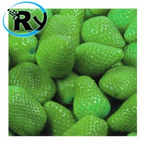 (Termurah) Benih Green Strawberry Hijau Import - Green