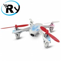(Termurah) Hubsan FPV X4 Mini Drone Quadcopter with Camera - H107D - White