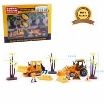 Construction Die Cast Car Metal - Mainan Construction Anak - Ages 3+