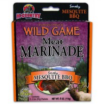 [poledit] Hi-Country Snack Foods Domestic Meat and WILD GAME 4 oz. Mesquite BBQ Meat Marin/14707419