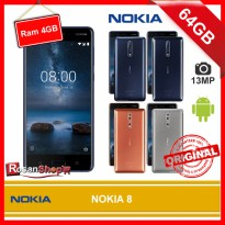 NOKIA 8 64GB Ram 4GB 13MP Garansi 1Th - BNIB ORIGINAL 100%