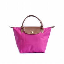 Tas Wanita Authentic Longchamp Le Pliage Classic Small Short Handle