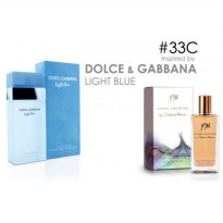 Parfum FM 33 Dolce & Gabbana - Light Blue (Original Import Eropa)