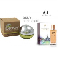 Parfum FM 81 DKNY - Be Delicious (Original Import Eropa)
