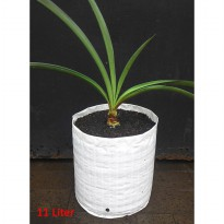 Planter Bag 11 Liter No Handle - Putih