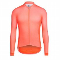 Rapha Pro Team Long Sleeve Jersey - Coral size M